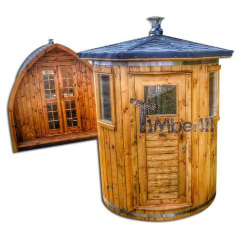Sauny fińskie ogrodowe 2 - 4 osobowa mini
