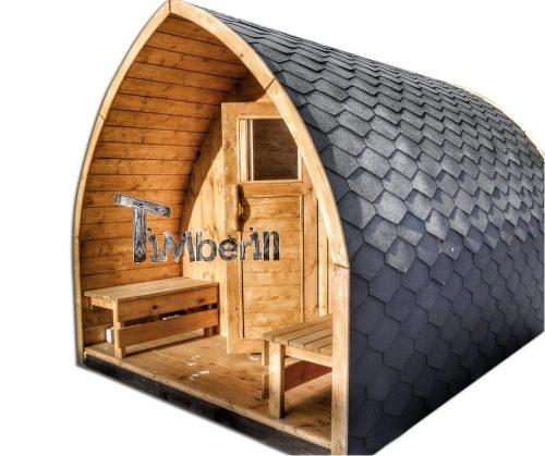 Sauna ogrodowa drewniana DIY elektryczna opalana drewnem