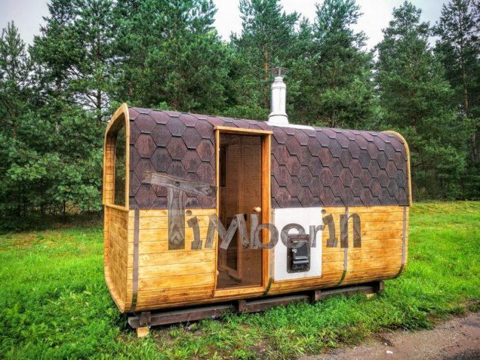 Sauna Ogrodowa Drewniana