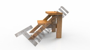 B_type_stairs_(4) Zewnętrzne spa z wkładem z włókna szklanego i zintegrowanym piecem - Wllness Deluxe