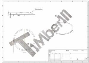 Drawing_of_fiberglass_lid Zewnętrzne, zatopione w ziemi/tarasie/patio jacuzzi – Model stożkowy