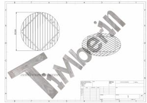 Drawing_of_wooden_lid Balia  z wkładem z włókna szklanego i zintegrowanym piecem - thermowood o żywych barwach