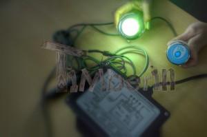 LED_(1) Zewnętrzne, zatopione w ziemi/tarasie/patio jacuzzi – Model stożkowy