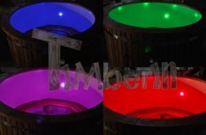 LED_(2) Owalna balia z wkładem z włókna szklanego dla 2 osób