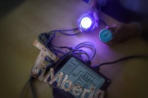 LED_(3) Owalna balia z wkładem z włókna szklanego dla 2 osób