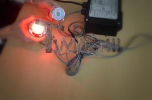LED_(4) Owalna balia z wkładem z włókna szklanego dla 2 osób