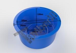 Terrace_model_3D_design_(3) Jacuzzi do montażu w ziemi/tarasie/patio, wykonane z włókna szklanego – Model Klasyczny