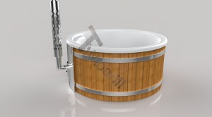 Wellness_Fiberglass_3D_render_(15) Zewnętrzne spa z wkładem z włókna szklanego i zintegrowanym piecem - Wllness Deluxe