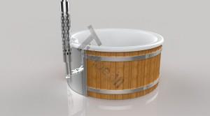 Wellness_Fiberglass_3D_render_(16) Zewnętrzne spa z wkładem z włókna szklanego i zintegrowanym piecem - Wllness Deluxe