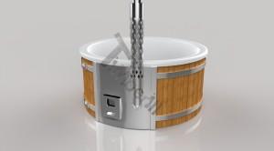 Wellness_Fiberglass_3D_render_(18) Zewnętrzne spa z wkładem z włókna szklanego i zintegrowanym piecem - Wllness Deluxe