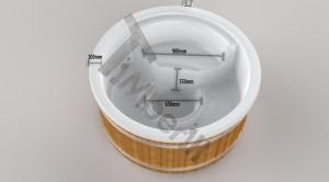 Wellness_Royal_3D_(2) Zewnętrzne spa z wkładem z włókna szklanego i zintegrowanym piecem - Wllness Deluxe